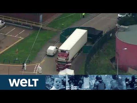 GRAUSAMER FUND: 39 Tote in Container in Großbritannien entdeckt