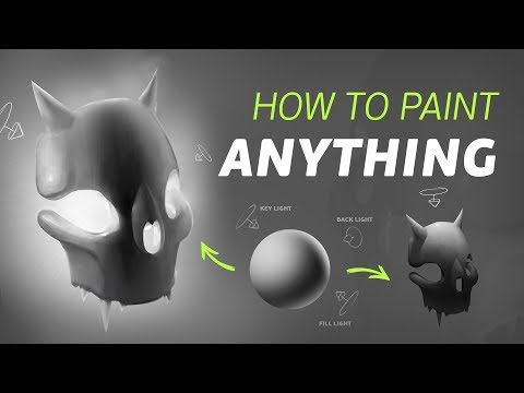How to Paint From Imagination: The ULTIMATE Guide to RENDERING