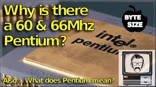 Why is there a Pentium 60 AND 66Mhz?! [Byte Size] | Nostalgia Nerd