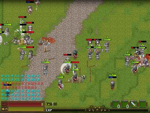 RPG Maker XP] Mount&Blade Style battle system ARPG + SRPG by