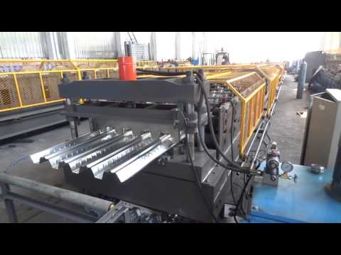 Steel Deck Forming Machine For Angola market