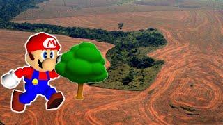 Planting 20,000,000 Trees in Super Mario 64