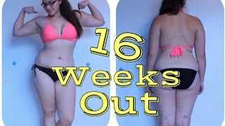 Figure Competition Prep Life Ep. 7: My 16 Week Out Physique Update