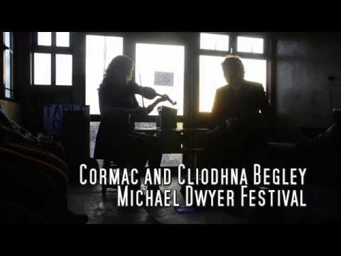 Cormac and Cliodhna Begley The Michael Dwyer Festival