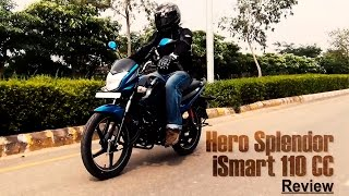 hero splendor ismart 110 test ride review