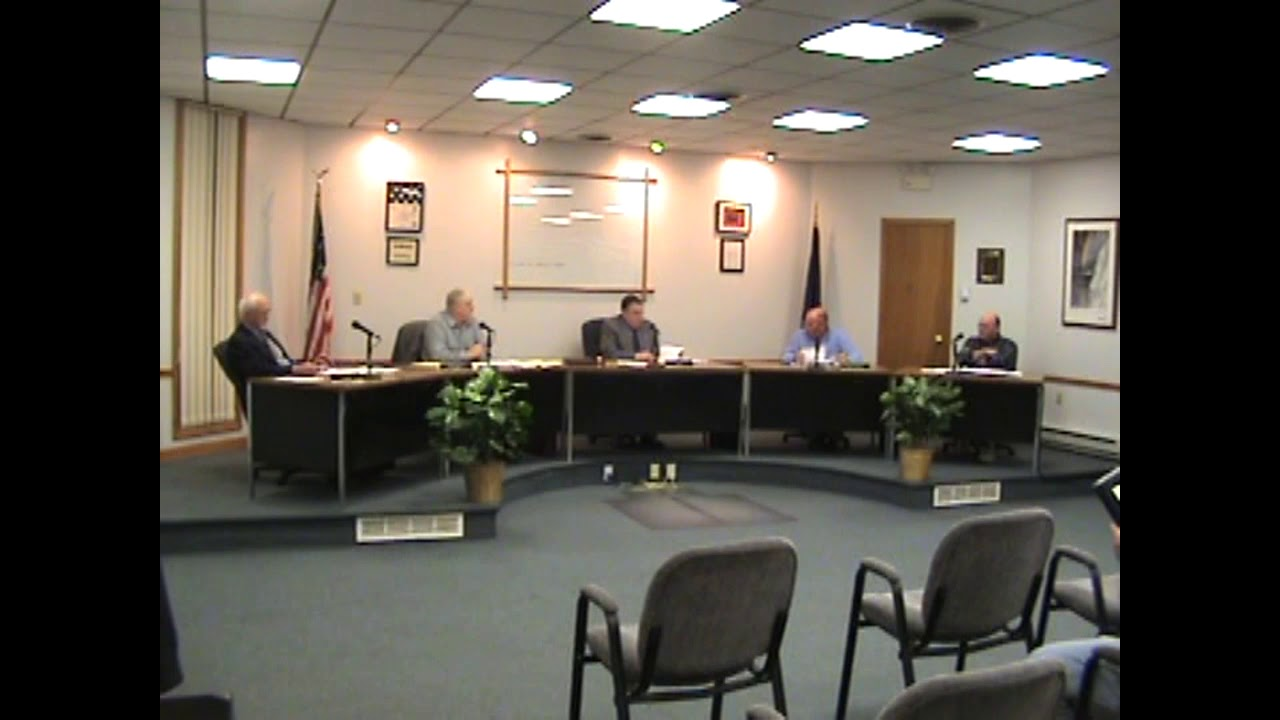 Rouses Point Village Board Meeting  4-5-10