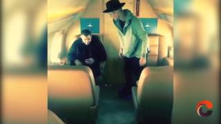 Justin Bieber y el beso gay a su guardaespaldas