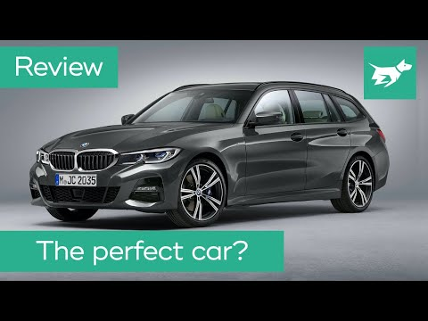Bmw 3 Series Touring Review 2020 330i Wagon Driven Youtube