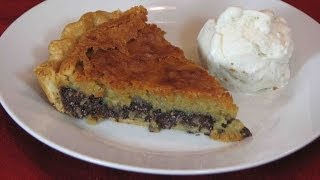 Chocolate Chip Cookie Pie -- Lynn's Recipes 4th Of July
