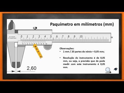 3dcbeab4469 Paquímetro Milímetros 0