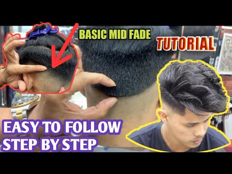 The best BASIC MID FADE /TUTORIAL/2020 (easy to follow step by step)