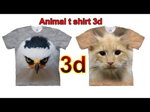 Top Best Animal T Shirt 3d 2019