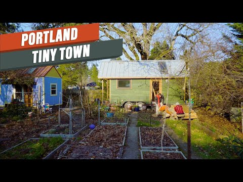 Living Tiny In Portland For $300/month