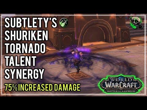 BFA Subtlety Rogues Sharknado and Shadowblades Change 8.0 - Battle Fo Azeroth World of Warcraft