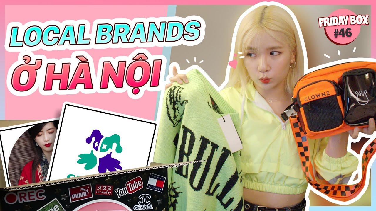 [FRIDAY BOX] MelTV Lần Đầu Mua Đồ Local Brands Hà Nội Cực Nhiều