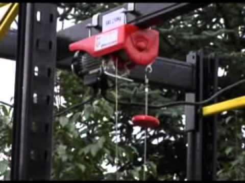 Harbor Freight Gantry Crane >> Harbor Freight 880lb hoist & 2-ton Trolley | Doovi