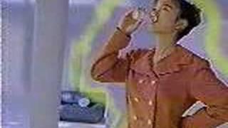 1990年、資生堂アペリオのCM 出演 和久井映見.