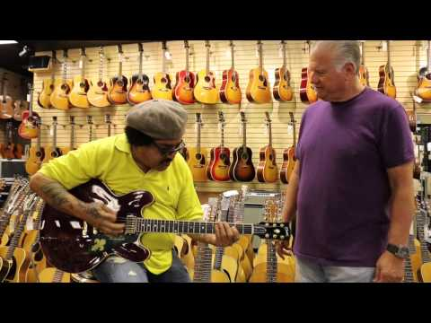 Leo Nocentelli from the Meters stops by Norman's Rare Guitars