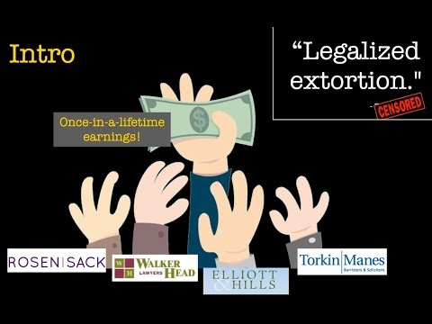"""Legalized extortion."" - CENSORED - Part 1 of 5 