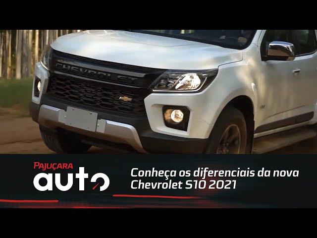 Conheça os diferenciais da nova Chevrolet S10 2021