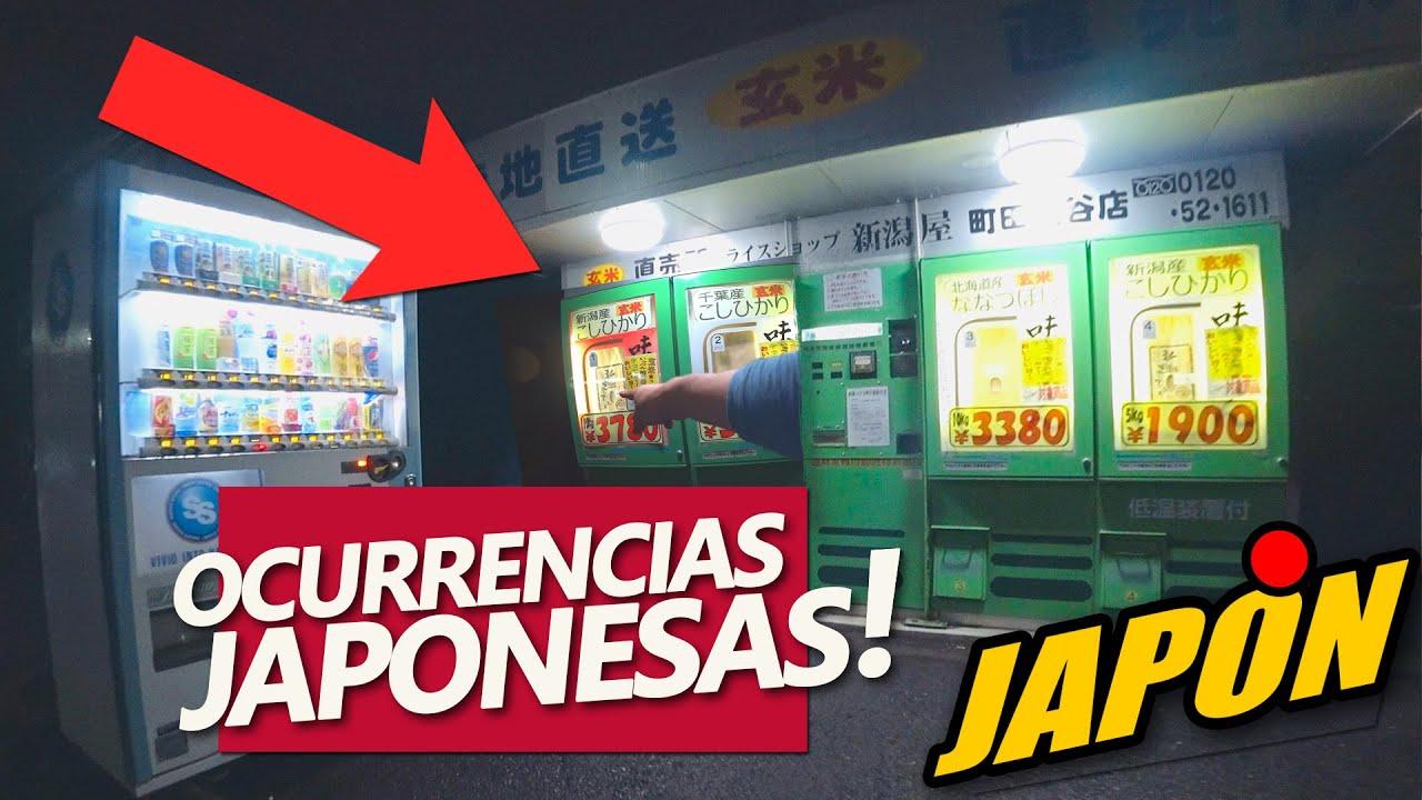 OCURRENCIAS JAPONESAS | MAQUINAS QUE SIRVEN ARROZ | JAPANISTIC+