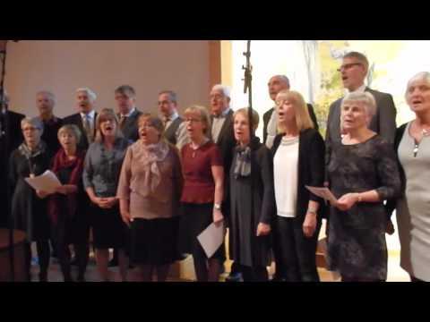 Ljurhalla choir singing Psalm 24