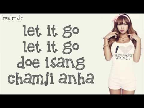 Hyorin - Let It Go (from frozen [Korean version]) Lyrics Romanized