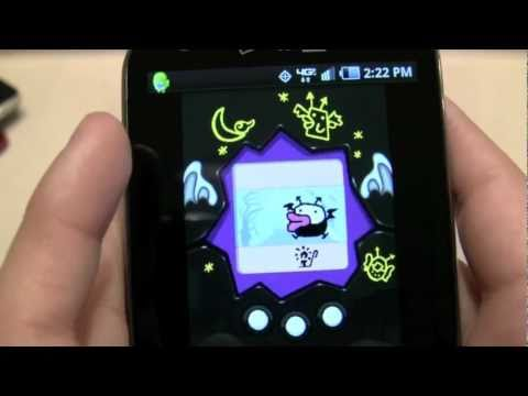 Android Defeats iPhone with Java Monster!!!! *Devilgotchi Tamagotchi Monster*