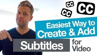 Easily Add Video Subtitles for YouTube! (and create accurate closed caption .SRT files)