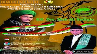 live GUS ALI MAFIA SHOLAWAT