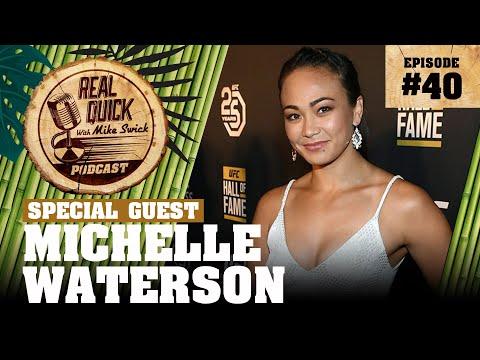 EP #40 Michelle Waterson (In Studio) - Thailand, Training, Film, UFC 232 Breakdown