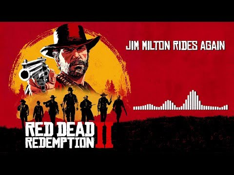 Red Dead Redemption 2  Soundtrack - Jim Milton Rides Again   With Visualizer