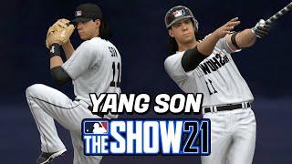 [더쇼21] 1화 투수, 타자 전부 하는 양손의 MLB…