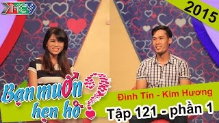 Cuộc hẹn hò lãng mạn của chàng khờ thủy chung | Đình Tín - Kim Hương | BMHH 121