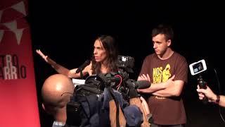 Willy Toledo - Por la Libertad de Expresión - Teatro del Barrio  12-09-2018