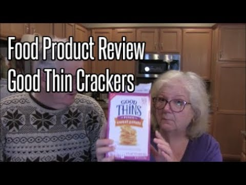 WW Food Product Review   Good Thin Crackers   Jill 4 Today