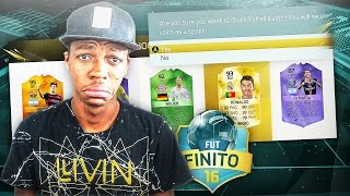 OMG I DISCARDED RONALDO !! NEW FUT DRAFT DUEL SERIES - FIFA 16 FUT DRAFT FINITO