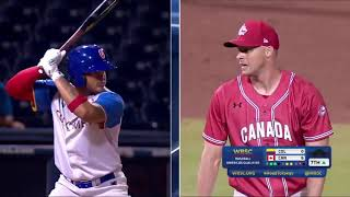HIGHLIGHTS Colombia v Canada - Baseball Americas Qualifier