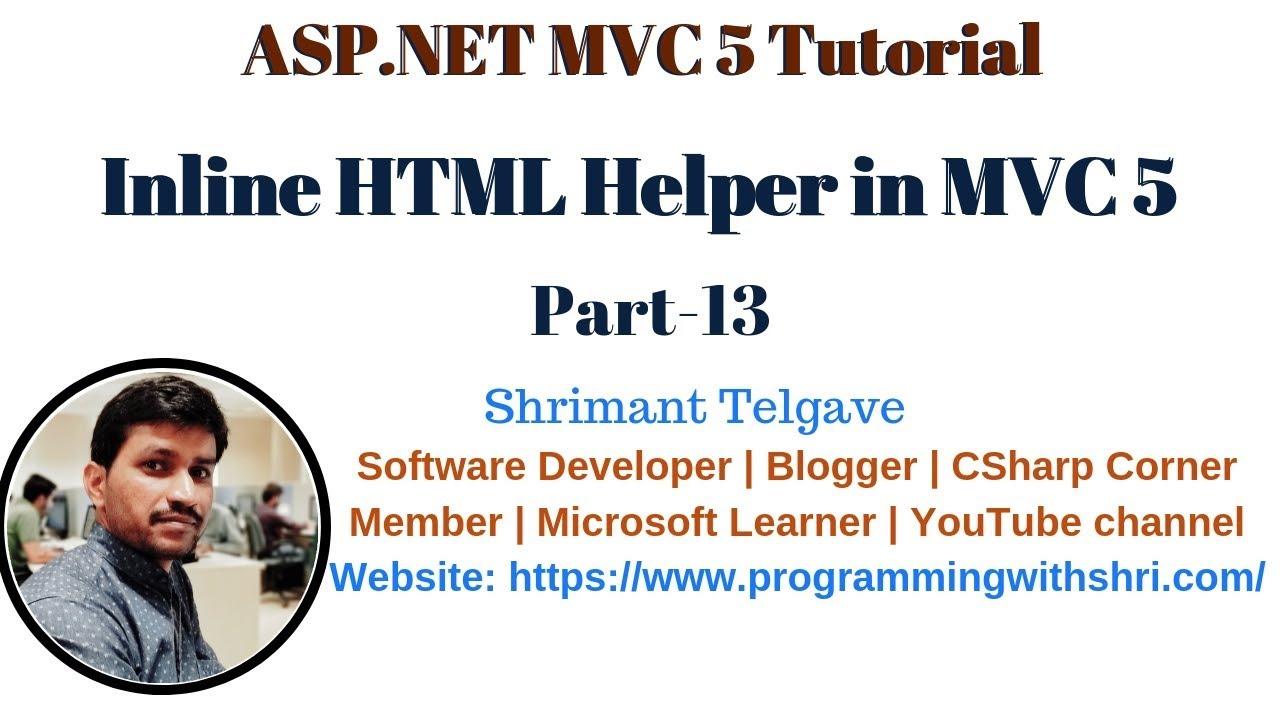 Asp. Net 5 and asp. Net mvc 6 full tutorial youtube   software.