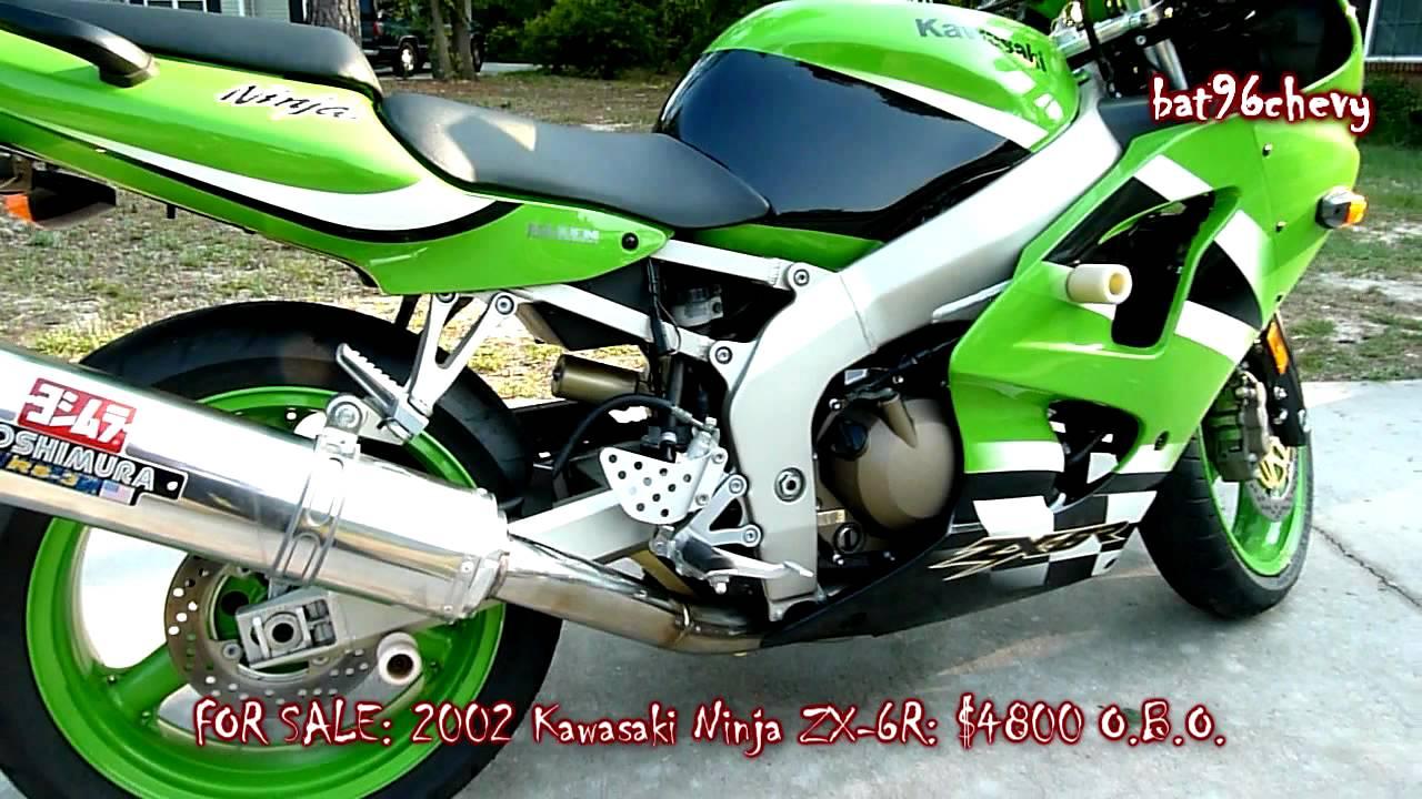 SOLD: 2002 Kawasaki Ninja ZX-6R - HD - YouTube