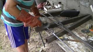 Como hacer cama de hierro