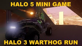 Halo 5 Minigame Gameplay: Halo 3 Warthog Run
