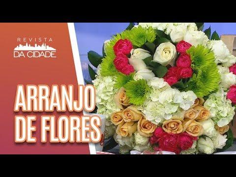 Faça Você Mesmo: Arranjos De Flores Naturais - Revista Da Cidade (08/05/18)