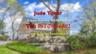 91 Puritan Lane, Swampscott MA   Jude Toner   Tel 781 704 6592
