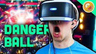 THE FUTURE OF SPORTS! | Danger Ball (PSVR Worlds Gameplay)