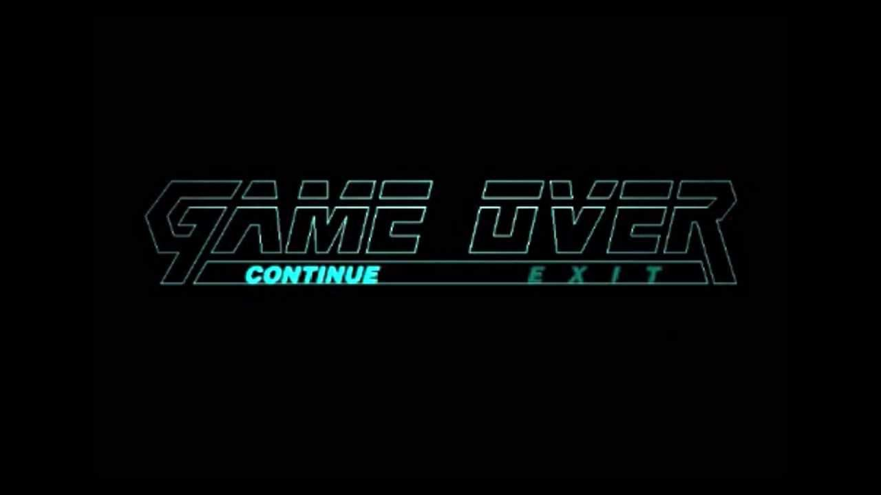 Metal Gear Solid 2 Game Over