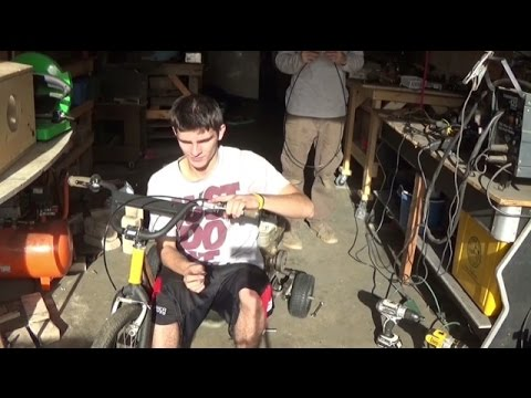 building another 5HP motorized trike