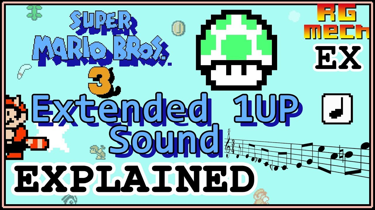Super Mario Bros  3 - Extended 1up Sound : programming