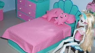 How To Make A Bed For Monster High Lagoona Blue Doll