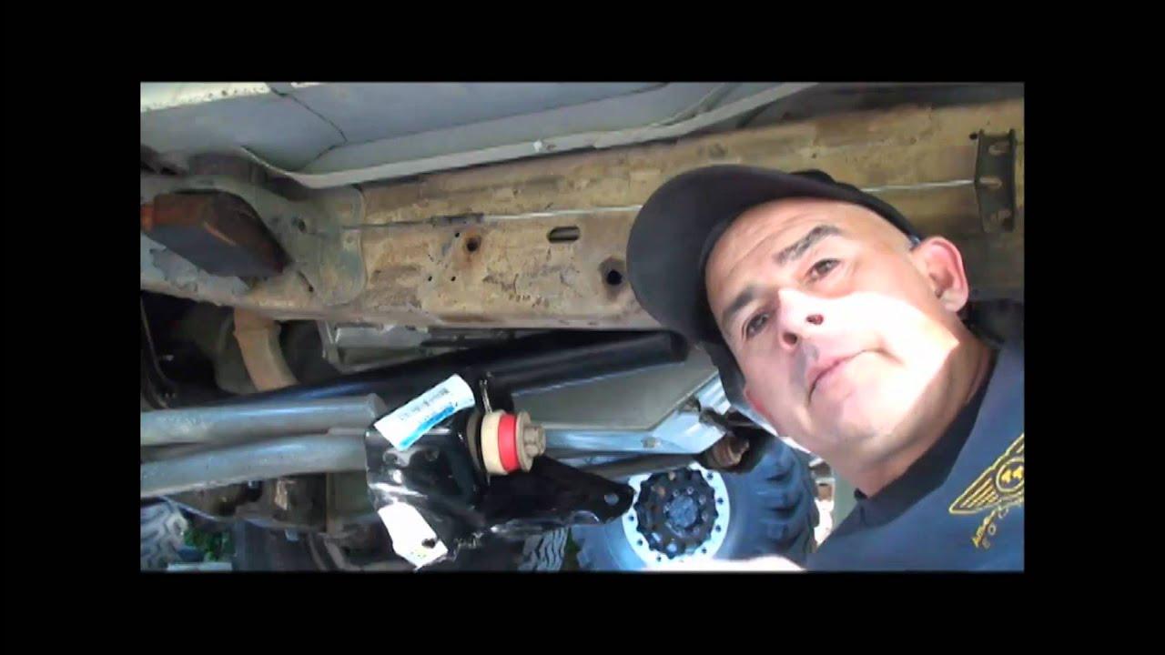Radius Arm Brackets And Rear Shocks Youtube